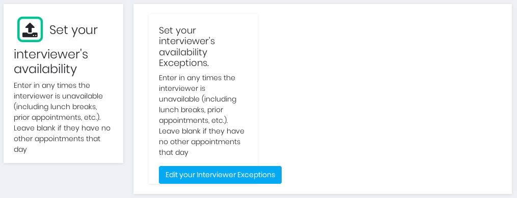Adding An Interviewer